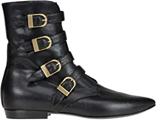 PHILOSOPHY Luxury Fashion Womens MCGLCAS000006001I Black Ankle Boots | Season Outlet
