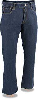 Milwaukee Leather Men's Denim Jeans Infused With Aramid...