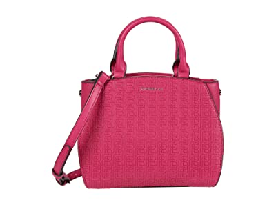 Fiorelli Demi Small Satchel (Fuchsia Emboss) Handbags