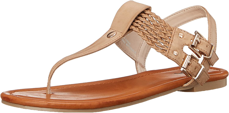 MIA 2 Womens Ivelise Flat Sandal