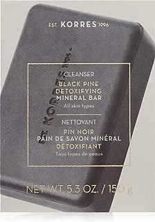 KORRES Black Pine Detoxifying Mineral Bar, 5.3 oz.