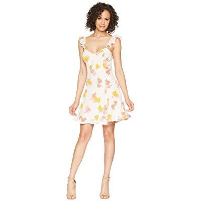 ASTR the Label Brianne Dress (Blush Multi Floral) Women