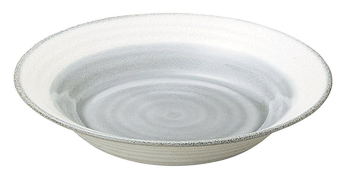 穏やかな意味のある啓示光洋陶器(Koyotoki) 大鉢 グレー 26.5cm 8.5 鉢 月の香柄 54588052
