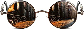 Gothic Steampunk Polarized Sunglasses For Men Women UV...