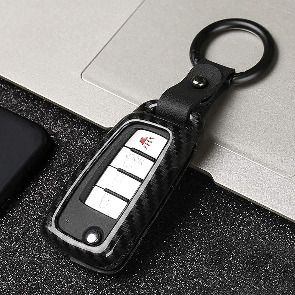 Key Case Popular product Cover Holder Keychain Indianapolis Mall Keyring Fit for S Nissan Flip