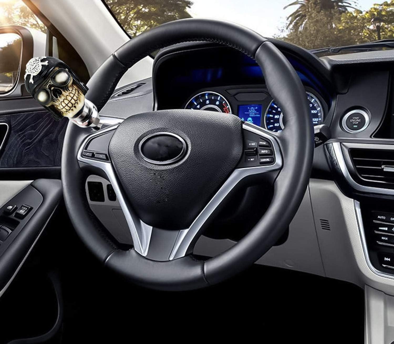Steering Wheels & Accessories Lunsom Skull Shape Vehicle Steering ...