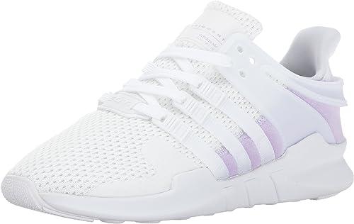Adidas Originals Wohommes EQT Support Adv W, blanc violet Glow, 9.5 Medium US