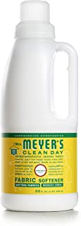 Mrs. Meyer's Clean Day Liquid Fabric Softener Bottle, Honeysuckle Scent, 32 Fluid Ounce