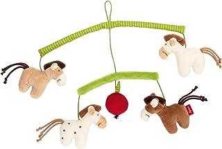 Sigikid SIGIKID Mädchen und Jungen, Mobile Pferde Hangons, Babyspielzeug, empfohlen ab 0 Monaten, mehrfarbig, 42264