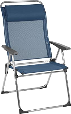 Lafuma Camping Armchair, Foldable, Compact, ALU CHAM XL, Batyline, Colour: Ocean, LFM2774-3865