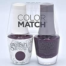 Gelish Gel Polish & Morgan Taylor Nail Polish Duo 1110920 Love Me Like A Vamp