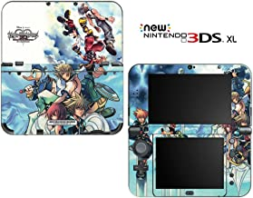 Kingdom Hearts 3D Dream Drop Distance Decorative Video Game Decal Cover Skin Protector for New Nintendo 3DS XL (2015 Edition)