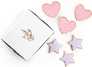 The Queen's Treasures Bakery Collection 6pc 18-Inch Doll Cookies Hearts and Stars Shaped Frosted Cookies Designed To Be Compatible with 18-Inch American Girl Doll Furniture and Play Food Accessories.