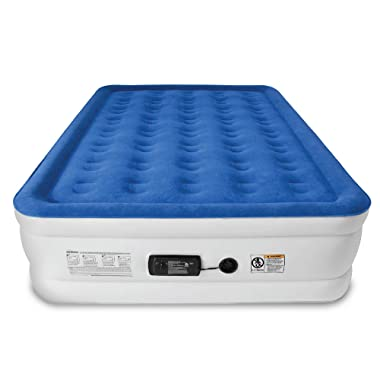 SoundAsleep Dream Series Air Mattress with ComfortCoil Technology & Internal High Capacity Pump - Queen Size