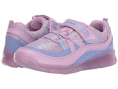 Stride Rite M2P Lighted Burst (Little Kid/Big Kid) (Purple Multi) Girls Shoes