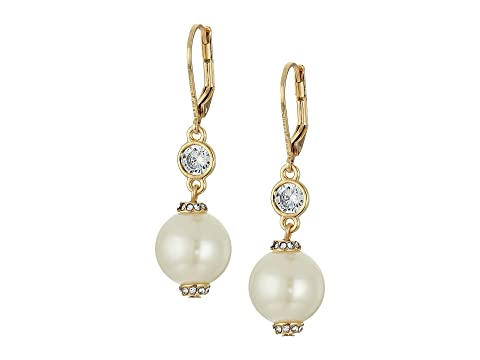 Kate Spade New York Pearls of Wisdom Leverback Earrings