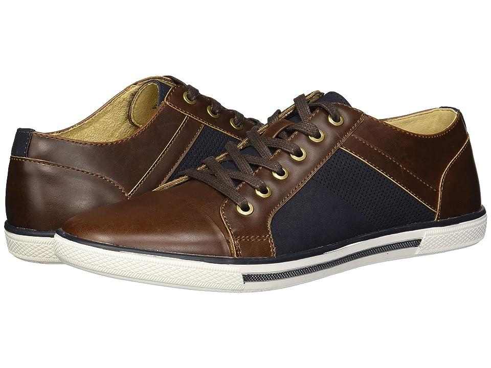Kenneth Cole Unlisted Crown Sneaker B (Navy/Brown) Men