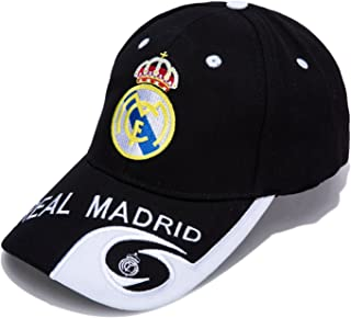 DanielFelix Real Madrid F.C. -Embroidered Authentic EPL Adjustable Black Baseball Cap