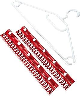 Ensemble d'accessoires Pegasus Leifheit , 2 petits porte-petites pièces pour sèche-linge + 5 cintres résistants au vent po...