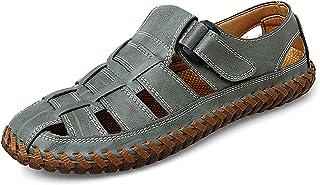 Sandales Homme Cuir Fermé Chaussure de randonnée