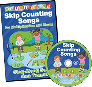 Skip Counting Songs for Multiplication and More DVD