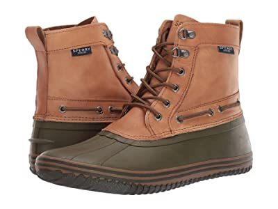 Sperry Huntington Duck Boot (Tan/Olive) Men