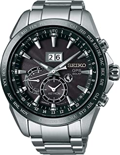 Seiko Astron GPS Solar mit Großdatum SSE149J1 Men`s GPS reception for time and timezone