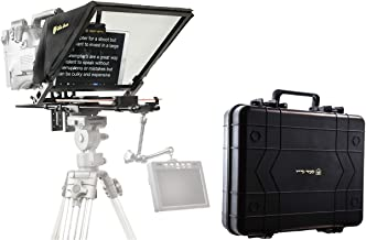"""Glide Gear TMP 750 16.5"""" Professional Video Camera Tablet Teleprompter 70/30 Beam Splitting Glass with Hard Protective Car..."""