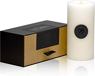 DecoCandleS Urban Concepts Relaxation - Lavender Bergamot - Highly Scented - Long Lasting - Hand Poured in USA - Signature Scent for The Bohemian Hotel Charleston Gallery- Pillar in Box - 3X6