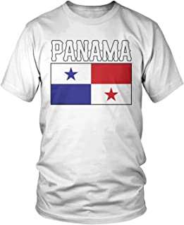 Men's Panama Flag, Love Home Flag of Panama T-Shirt
