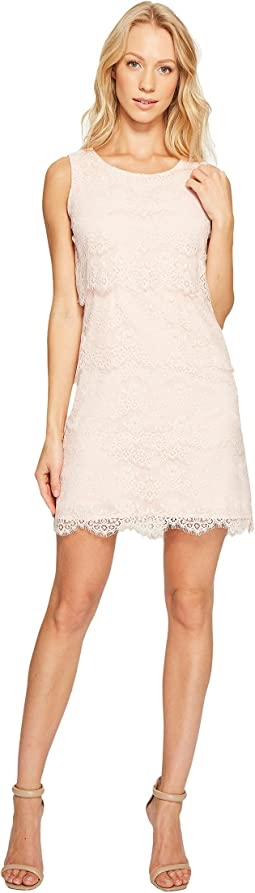Tiered Lace Dress JS4R4533