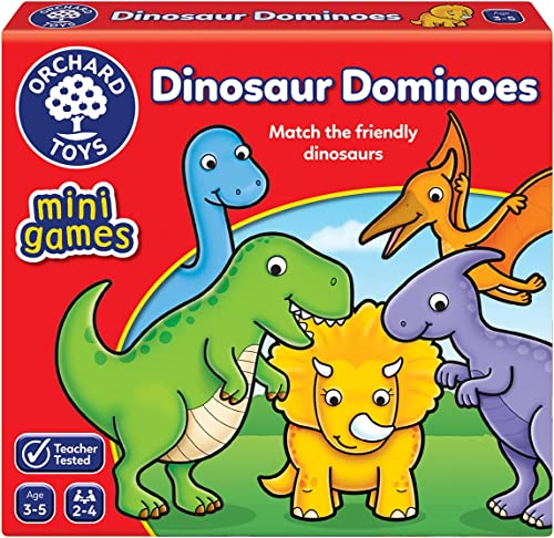 Orchard Toys Dinosaur Dominoes Mini Game