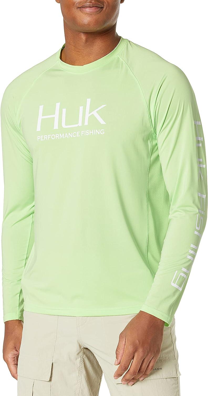 HUK Colorado Springs Mall Men's Pursuit Vented Long Sleeve 30 Shirt UPF Key Fishing shopping L