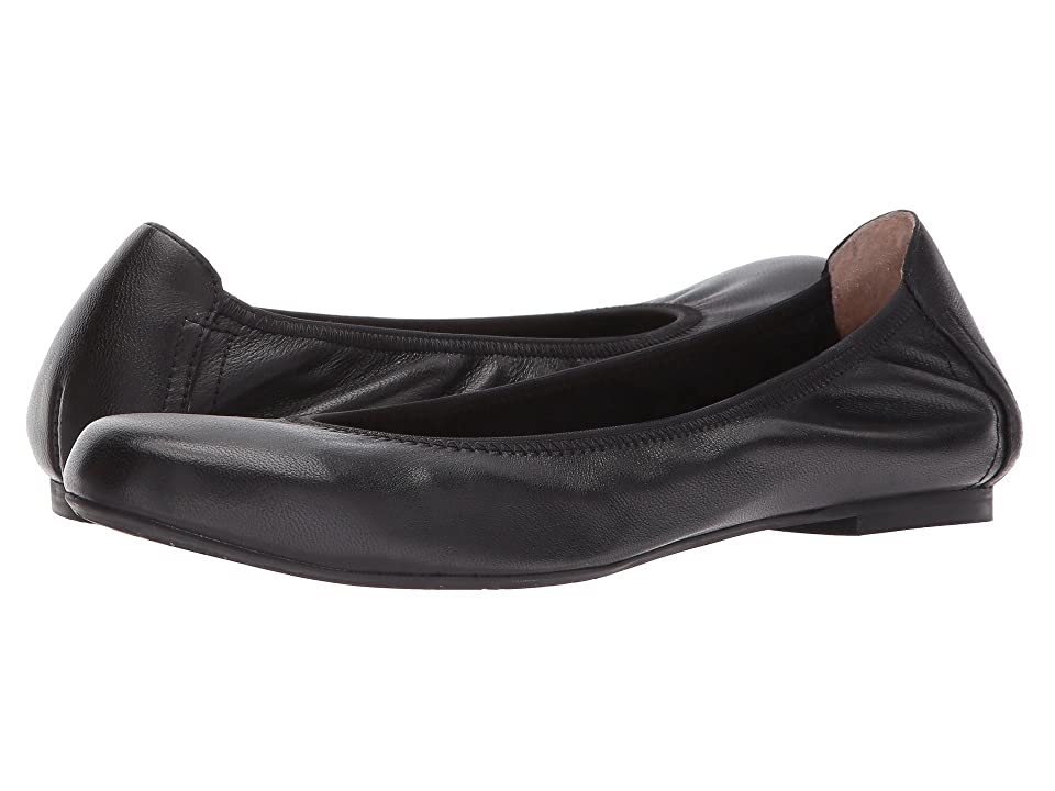 Blondo Becca Waterproof Flat (Black Leather) Women