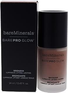 Bare Escentuals Barepro Glow Bronzer Liquid Face Bronzer Makeup - Warmth, 0.47 Oz