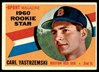 1960 Topps #148 Carl Yastrzemski RS Excellent+ RC Rookie Red Sox