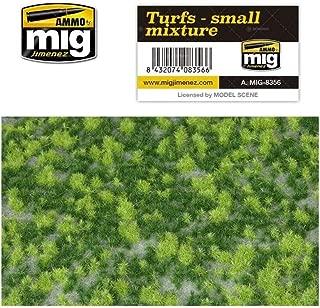 AMMO MIG-8356 Turfs - Small Mixture Grass Mats, Multicolour