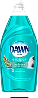 dawn Ultra Escapes dishwashing Liquid, New Zealand Springs 41 oz
