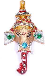 Hashcart Ganesh Idol Wall Hanging Ganesha in Colorful Finish for Home Decor/Gift