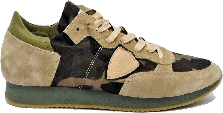 huge selection of eed53 0287d Philippe Model Herren Sneaker Camouflage Uomo43 B07C646BGF   Am  praktischsten