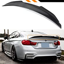 Cuztom Tuning Fits for 2015-2019 BMW F82 M4 PS Style Big Duckbill High Kick Carbon Fiber Trunk Lid Spoiler Wing