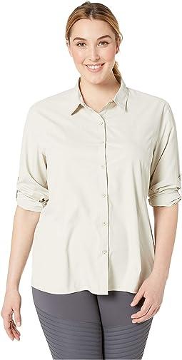 Plus Size Gobi Desert Long Sleeve Shirt