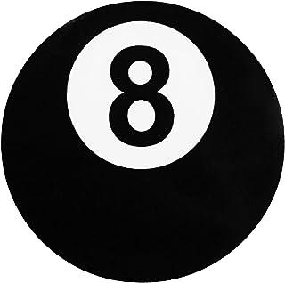 Papapatch 8 Eight Ball Billiards Pool Circle DIY Vinyl Window Laptop Wall Decor Decal Sticker (STK-8BALL)