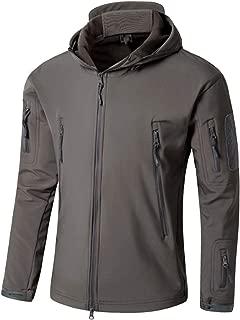 Goodorient Men's Waterproof Hooded Softshell Jacket