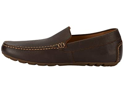 Lucky Brand Weston (Brown Perfed Distressed Full Grain) Men