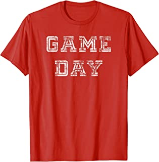 Game Day Football Shirt Men Women Kids Vintage Football Gift