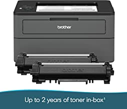 Brother Compact Monochrome Laser Printer, HL-L2370DWXL Extended Print, Up to 2 Years of Printing Included, Wireless Printing
