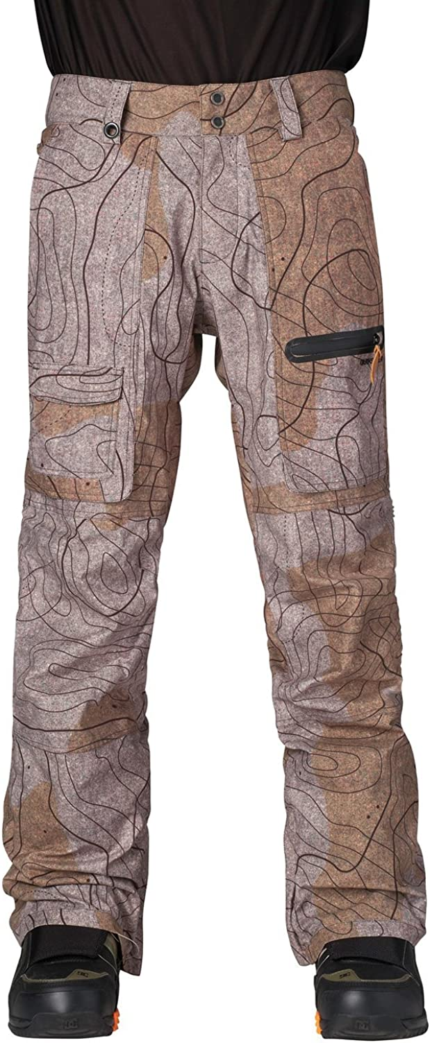 Quiksilver Snow Men's Dark Pant Stormy and Industry Import No. 1