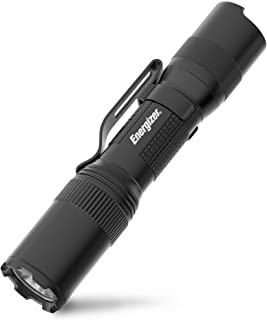 ENERGIZER LED Tactical Flashlight, Ultra-Compact EDC, IPX4 Water Resistant, Rugged Metal Body, Built For Camping, Outdoor...