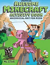 Awesome Minecraft Activity Book: Whimsical Art for Kids